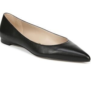 Sam Edelman Sally Work Flat Black Leather